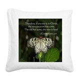 Scripture pillows Square Canvas Pillows