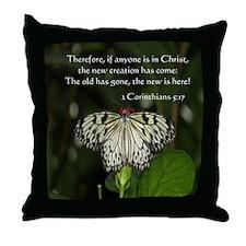butterfly2pillow Throw Pillow