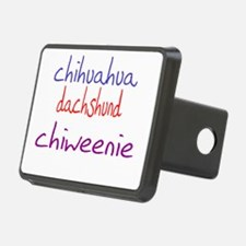 chiweenie_black Hitch Cover