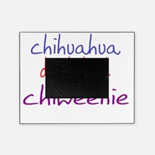 chiweenie_black Picture Frame