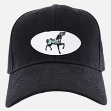 black carousel horse Baseball Hat