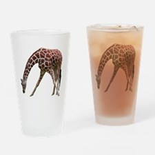 giraffeCutOut Drinking Glass