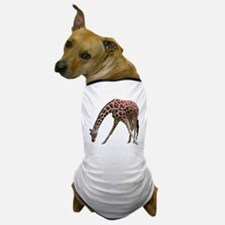 giraffeCutOut Dog T-Shirt