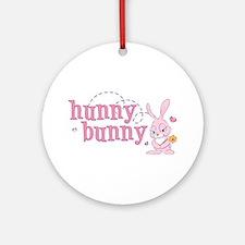 Hunny Bunny Ornament (Round)