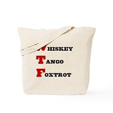 wtf-b Tote Bag