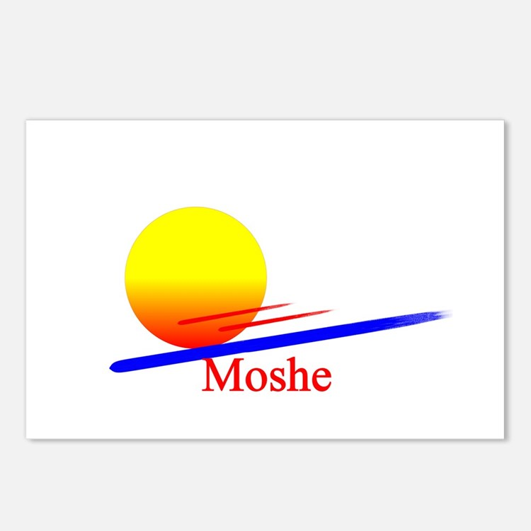 Moshe Postcards (Package of 8)