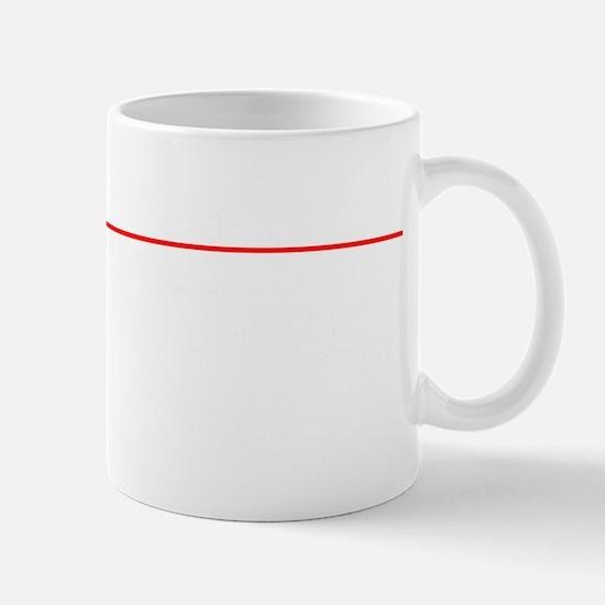 Event Horizon Park At Your Own Risk BW Mug