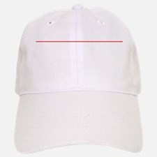 Event Horizon Park At Your Own Risk BW Baseball Baseball Cap