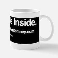Dogs Against Romney bumber-pug-I ride i Mug