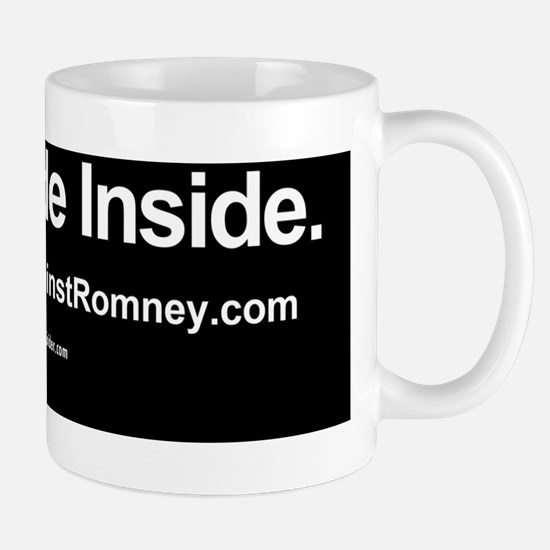 Dogs Against Romney bumber-pug-I ride i Mug
