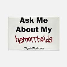 Hemorrhoids Rectangle Magnet