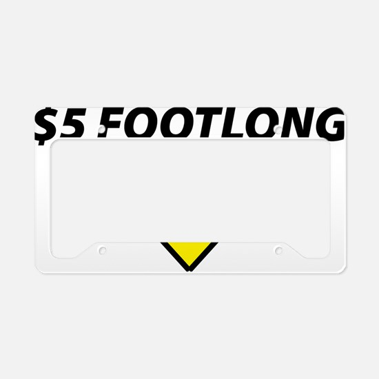 footlong License Plate Holder