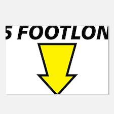 footlong Postcards (Package of 8)