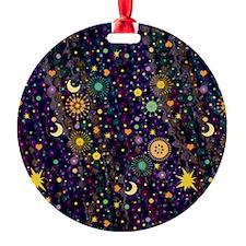 MardiGypsy460_ipadPat Round Ornament