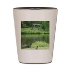 duck lake Shot Glass