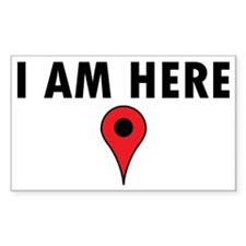i am here Decal