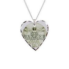 reel dancer da vinci intellig Necklace Heart Charm