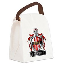MURPHY COAT OF ARMS FAMILY CREST Canvas Lunch Bag