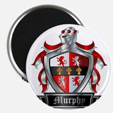 MURPHY COAT OF ARMS FAMILY CREST Magnet