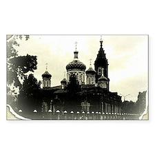 Russian orthodox church Decal