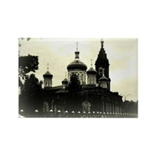 Russian orthodox church Rectangle Magnet