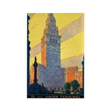 ART The new Union Terminal Rectangle Magnet