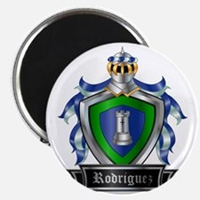 RODRIGUEZ COAT OF ARMS Magnet
