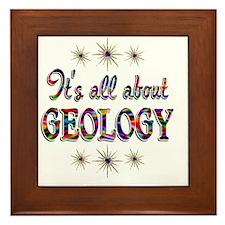 GEOLOGY Framed Tile