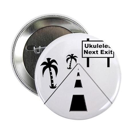 """funny ukulele gift uke t-shirts ukule 2.25"""" Button"""