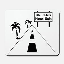 funny ukulele gift uke t-shirts ukulele  Mousepad
