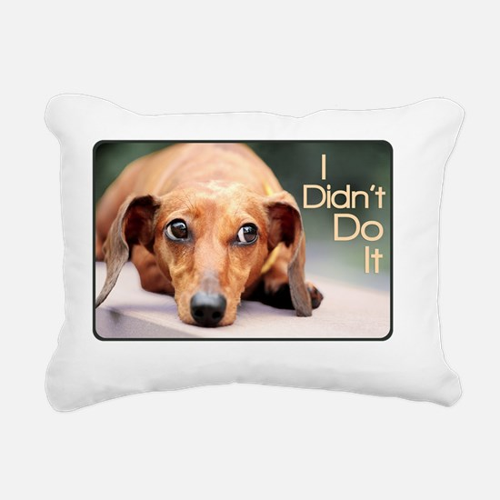 didntdoit3 Rectangular Canvas Pillow