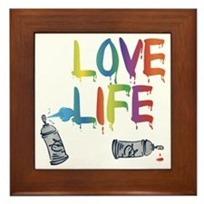 love life Framed Tile