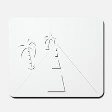 funny mallet percussion stick design Mousepad