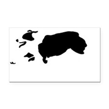 Australian Shepherd Rectangle Car Magnet