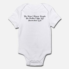 Like Snowshoe Infant Bodysuit