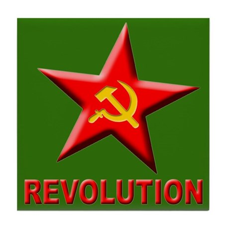 Revolution Tile Coaster