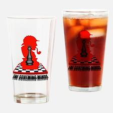 Black Queen (clean) Drinking Glass