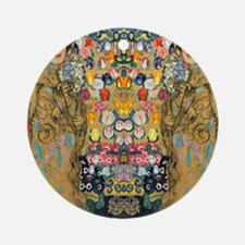 Klimt Cal G Round Ornament