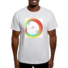 Orange Cardioid 12 21 12 T-Shirt