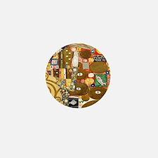Klimt Cal L Mini Button