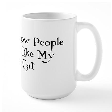 Like Sphynx Large Mug