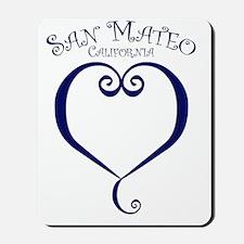 HEART-San-Mateo Mousepad
