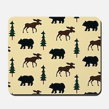 Bear Moose Laptop Skin Mousepad