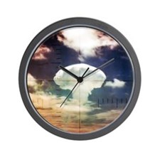 FrigateBird_CafePress Wall Clock