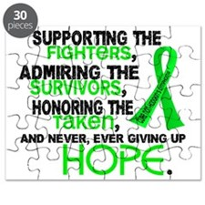 D NH Lymphoma Supporting Admiring Honoring  Puzzle