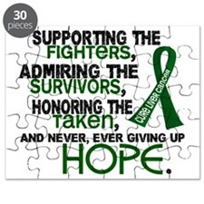 D Liver Cancer Supporting Admiring Honoring Puzzle