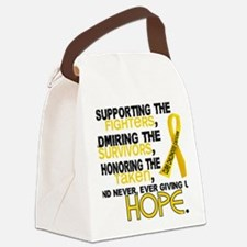 D Supporting Admiring Honoring 3. Canvas Lunch Bag