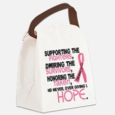 - Supporting Admiring Honoring 3. Canvas Lunch Bag