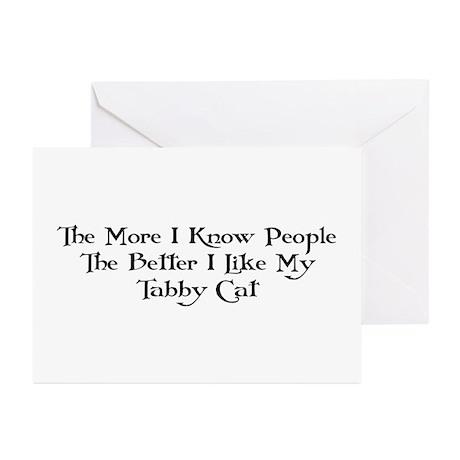 Like Tabby Greeting Cards (Pk of 10)