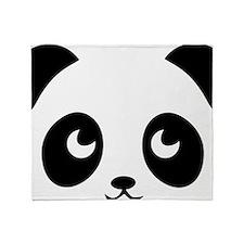 cute panda Throw Blanket